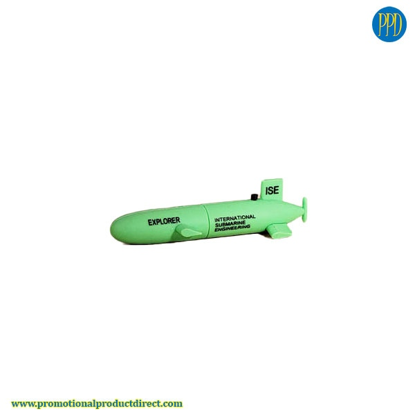 submarine custom shaped 3D flash drive USB