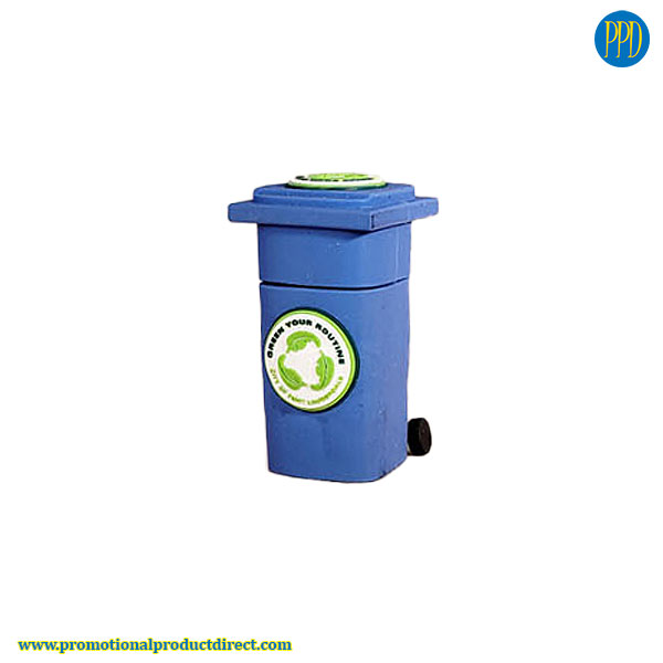 recycle box custom shaped 3D flash drive USB