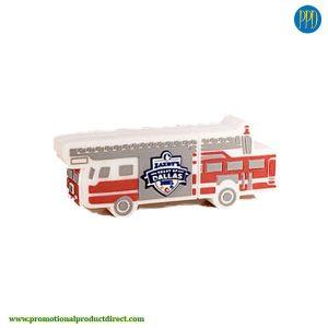 fire truck custom shaped 3D flash drive USB