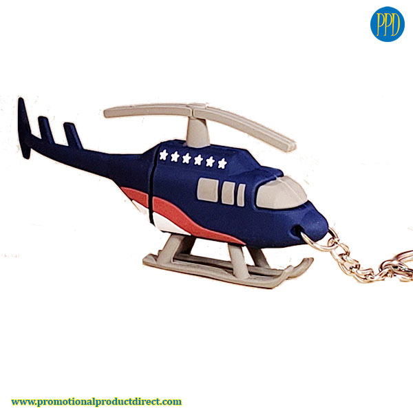 helicopter shaped usb 3D flash drive