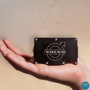 ridge rfid wallet for business logo promotional product
