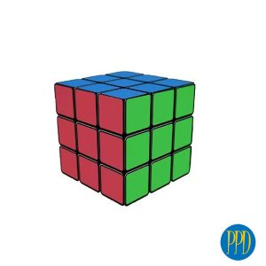 6 side full logo rubiks cube