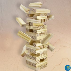 mina jenga tower game promotional product direct