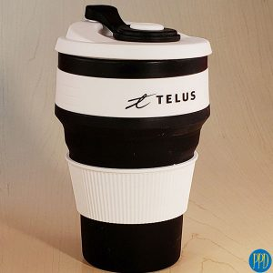 folding collapsible stojo coffee cup