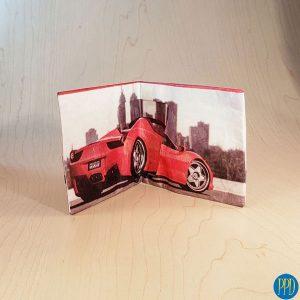 tyvek waterproof tear proof paper wallet promotional product