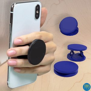 The Hoop Phone Grip is a super-handy phone accessory that's perfect to giveaway at your next event. The Hoop Phone Grip is available in Black, White, Blue or Red.