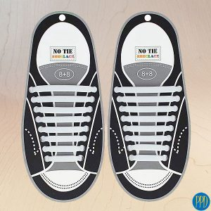 no tie silicone shoe laces promotional product direct