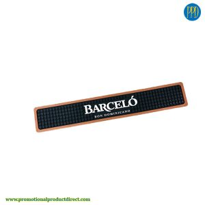 custom moulded bar mat swag promotional product
