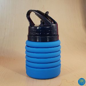 Reduce Silicone Folding Water Bottle The take anywhere collapsible silicone water bottle. Packable, collapsible silicone water bottle. Free Shipping.
