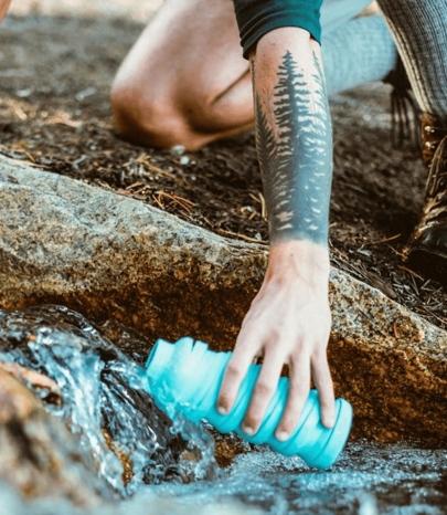 reusable water bottle for logo promo 405-466