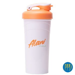 shaker cup with snap lid