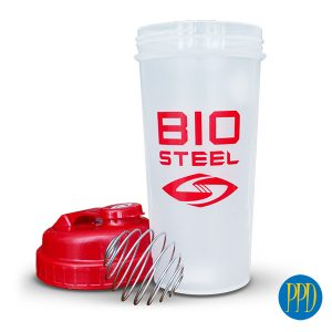 shaker cup with steel mixer ball