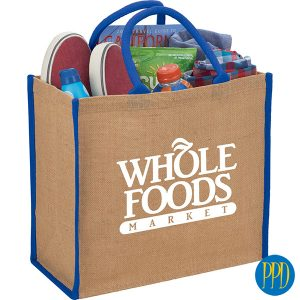 sustainable jute shopping bag