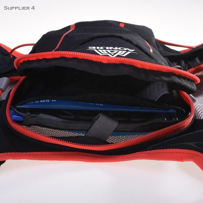 runners backpack inside view