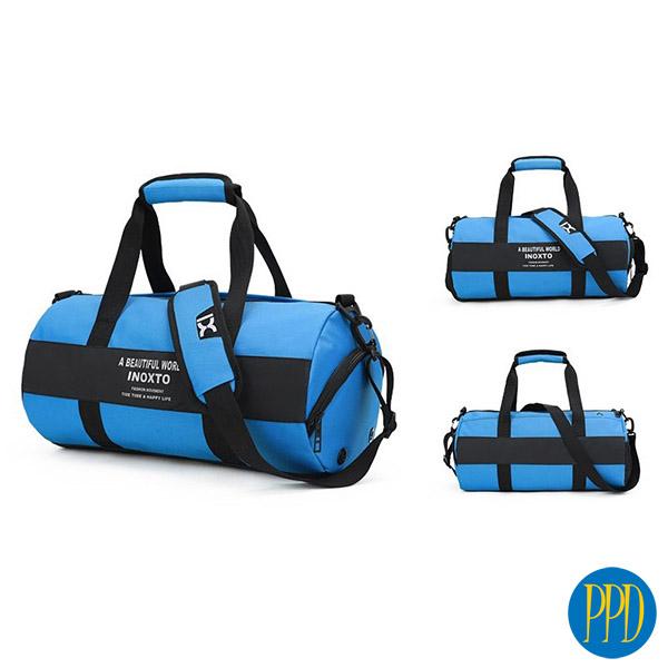 Custom duffel gym bag supplier