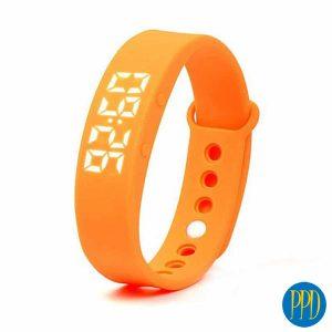 Fitbit style wrist pedometer
