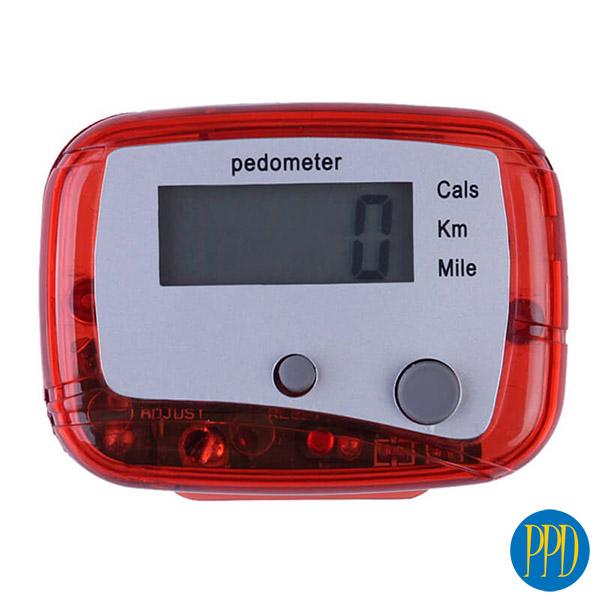 Inexpensive pedometer