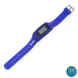Wristwatch style pedometer