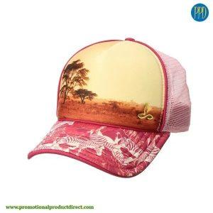 custom full sublimated hat trucker
