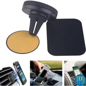 Magnetic car vent holder for phones or tablet