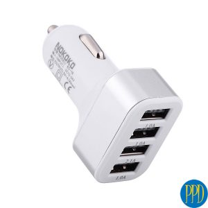 Cool style 4 USB port car charger