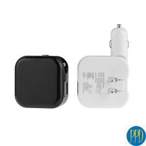 Unique 2 USB port 12V charger