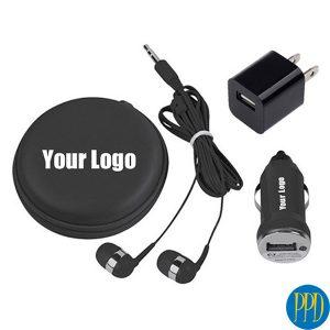 USB tech gadget travel kit