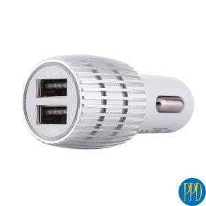 2 USB port 12V car charger