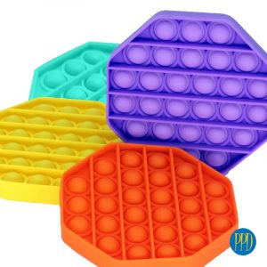 POP IT! colorful silicone fidget toy promotional product direct