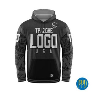 sublimated jersey hoody